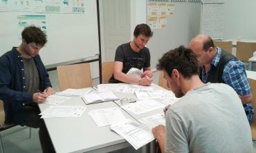 ... wurde das Workshopkonzept vorab getestet.