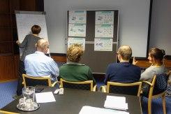 Diskussionsrunden zum Verständnis des Kartenmaterials